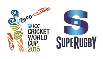 Super 15 & Cricket World Cup fixtures