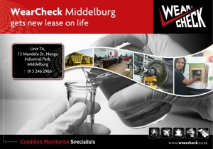 WearCheck Middelburg gets new lease on life