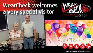 WearCheck welcomes a very special visitor
