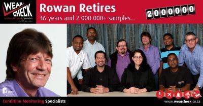 Rowan retires