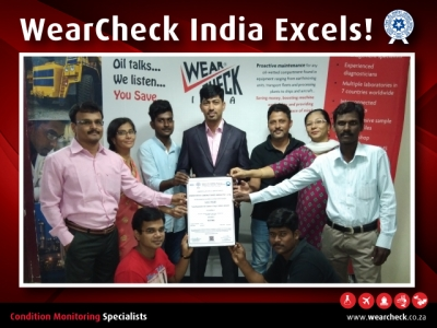 WearCheck India Excels