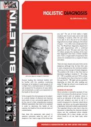 Technical Bulletin 57: Holistic Diagnosis