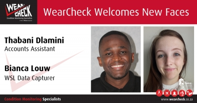 WearCheck Welcomes New Faces