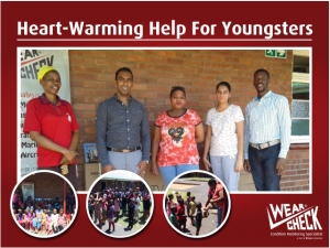 Heart-warming help for youngsters