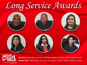 Sizwe hits 40 years at WearCheck